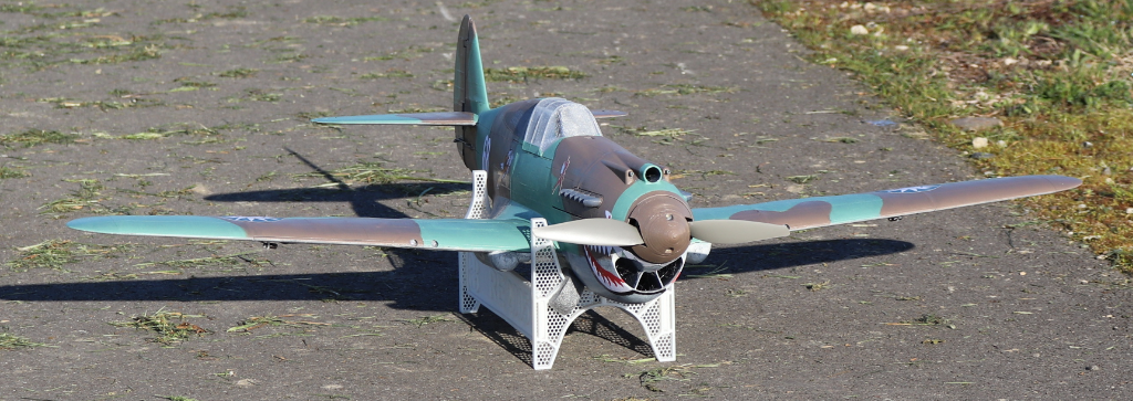 the legendary P-40 Tomahawk at 1/12 scale
